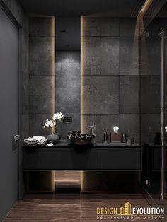 EGO - дизайн интерьера трехкомнатной квартиры
