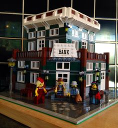 Lone Ranger Modular Lego Bank