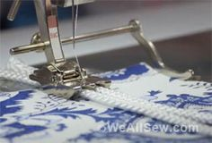 How to Stitch Cord and Make Piping: Free Video Tutorial