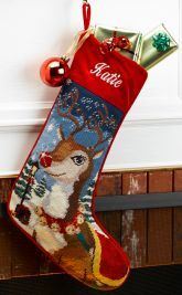 Needlepoint Christmas Stockings Personalized | MerryStockings