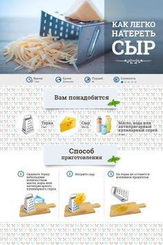 как натереть сыр