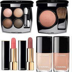 Chanel Coco Code wishlist JC 370 Elegance Blanc White and Beige Beige RAV Secréte et Libr Chanel Beauty, Chanel Makeup, My Beauty, Beauty Makeup, Beauty Hacks, Chanel Spring 2017, Natural Organic Makeup, Best Makeup Brands, Hair Romance