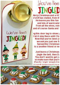 """Elf your neighbors with this fun """"You've Been Jingled"""" poem"""