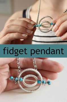 To see the pendant in action, be sure to click to the project.