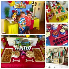 Paw Patrol Birthday Party by Artistic Whimsy Paw Patrol Theme Party, 5th Birthday, Birthday Cake, Party Themes, Artist, Desserts, Food, Tailgate Desserts, Deserts