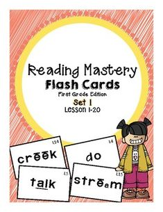 These cards are perfect for increasing fluency. They have picture supports to make it easier for children to focus on the target sight word. Use these Flashcards with multiple Literacy Centers or as Homework to build your students confidence! PLEASE NOTE: Reading Mastery is developed by SRA and published by McGraw-Hill and part of the SRA program.