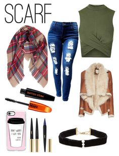 A fashion look from December 2016 featuring green crop top, brown jacket and ripped jeans. Browse and shop related looks. Green Crop Top, Brown Jacket, Ripped Jeans, Casetify, Yves Saint Laurent, Topshop, Weather, Fashion Looks, Paris