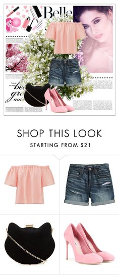"""""""Untitled #4"""" by ajisa-ikanovic ❤ liked on Polyvore featuring Rebecca Taylor, Canvas by Lands' End, New Look, Miu Miu and New Growth Designs"""