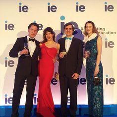 Muchas gracias a @iebusiness por elegir Remixance  como uno de patrocinadores del evento IE Winter Ball    y a @caspiansiren por lucir nuestro vestido de noche Salomé
