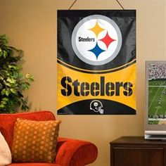 WinCraft Pittsburgh Steelers 27'' x 37'' Primary Vertical Banner Flag