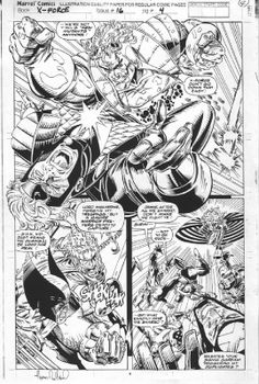 X-Force #16 Pg04 | Greg Capullo