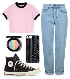 """""""BTS 12"""" by musicpandas ❤ liked on Polyvore featuring Topshop, Converse and Savannah Hayes"""