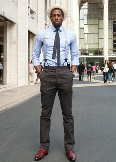 I'm vibing his ruggedness with the tailored suit...sayin' sumn' ellecanada.com