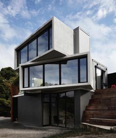 Best shipping container house design ideas 14 by Residential Architecture, Contemporary Architecture, Amazing Architecture, Interior Architecture, Conceptual Architecture, Concrete Architecture, Architecture Panel, Australian Architecture, Architecture Awards