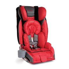 The Diono RadianRXT is a highly versatile car seat that could be the only seat you'll ever need. The convertible car seat comfortably seats rear-facing children from 5-45 lbs. and forward-facing children from 20-80 lbs. in a 5-point harness, then converts to a booster for children up to 120 lbs.