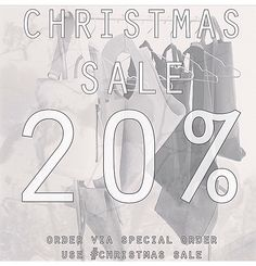 LOOKING FOR A CHRISTMAS GIFT? SALE AT ATELIERPCR!!! Order via special order at: www.atelierpcr.com specialorder@atelierpcr.com