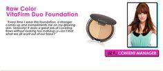 Raw Color Vitafirm Duo Foundation #DermStore $42.00