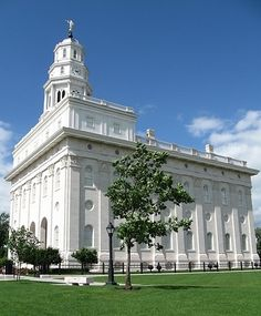 Church of Jesus Christ of Latter-day Saints, Nauvoo Illinois Temple Mormon Temples, Lds Temples, Nauvoo Illinois, Lds Temple Pictures, Church Pictures, Nauvoo Temple, Lds Art, Lds Church, Place Of Worship
