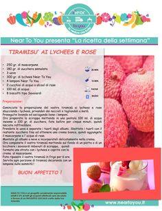 Ricetta della settimana! Tiramisù con lychees e rose, dal sapore davvero delicato e delizioso!
