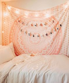 room decor Sparkly Gold & White Mandala Wall Tapestry Boho Room Decor Shop Sparkly Gold color trippy royal furnish flower ombre mandala cotton tapestry to create bohemian ambiance to any room. Shipping worldwide USA, UK, Canada, Australia and more. Bohemian Wall Tapestry, Tapestry Bedding, Room Tapestry, Mandala Tapestry, Tapestry Wall Hanging, Wall Tapestries, Colorful Tapestry, Wall Hangings, Bedroom Decor