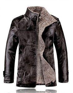 Winter Men Leather Jacket - Pulse Designer Fashion