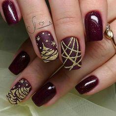 Christmas Nail Art Designs - 72 Christmas Nail Art Designs To Inspire You - Best Nail Art