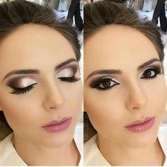 Beauty Makeup Hacks Ideas Wedding Makeup Looks for Women Makeup Tips Prom M. Makeup Goals, Makeup Inspo, Makeup Inspiration, Beauty Makeup, Face Makeup, Makeup Ideas, Makeup Hacks, Bridal Hair And Makeup, Prom Makeup