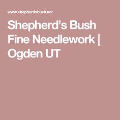 Shepherd's Bush Fine Needlework Needlework Shops, Embroidery Patterns, Crafting, Needlepoint Patterns, Crafts To Make, Crafts, Handarbeit, Girl Scout Crafts, Artesanato