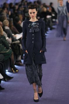 I want to be rich  own this coat yeah. Chanel 2012 spring couture.