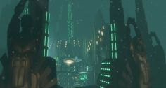 The underwater city of Rapture