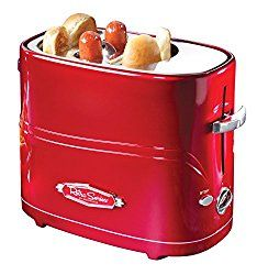 Nostalgia Electrics Retro Series Pop-Up Hot Dog Toaster. Model& The Nostalgia Electrics Hot Dog Toaster is a fast, fun and convenient way to enjoy hot dogs. This unit holds up to two regular-sized hot dogs and two hot dog buns at one time. Hot Dogs, Kitchen Gadgets, Kitchen Appliances, Cooking Gadgets, Small Appliances, Kitchens, Cooking Timer, Retro Appliances, Kitchen Tools
