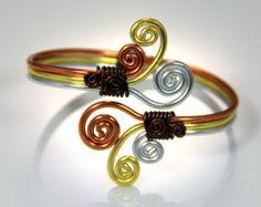 Bracelet spirale tordue