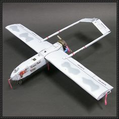 AAI RQ-7 Shadow UAV Ver.2 Free Aircraft Paper Model Download