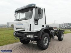 10 units Iveco EUROCARGO ML140E24WS 4x4 chassis cabin - NEW  Price: € 65.000,-  Axles: 4x4  Emission: Euro 3  Cabin: day cabin with three seats  HP/KW: 240 HP / 179 Kw  Gearbox: Manual gearbox  Wheelbase: 3915 mm  Suspension: steel spring  More information: http://www.pktrucks.com/stock/view/iv2731
