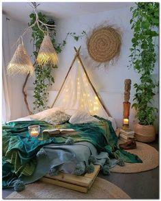 Bohemian Style Ideas For Bedroom Decor Design - Hipster Home Decor