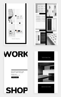 """Social Media Pack - Kelsey - For those looking for a professional presentation, """"Kelsey"""" o Web Design, Graphic Design Fonts, Design Typography, Graphic Design Inspiration, Book Design, Layout Design, Presentation Layout, Professional Presentation, Brochure Design"""