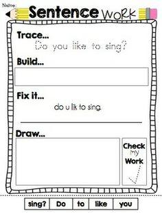 do homework sentence
