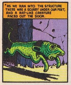 The Great Comic Book Heroes: Basil Wolverton's 'The Eye of Doom!'