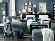Fantastisch ▷ 1001 + Ideen Zum Thema: Welche Farbe Passt Zu Grau? |  Wohnzimmer