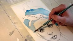 HOW I DO MY DRAWINGS   Jari Di Benedetto