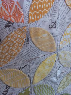 Crazy Old Ladies Quilts: Orange You Glad- a tutorial