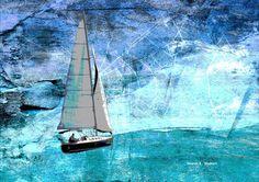 sailboat art - Google Search