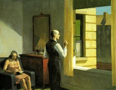 Hopper, Hotel presso una ferrovia, (1952).