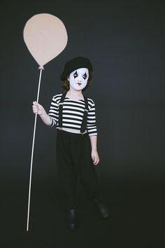 Mime Costume via Babiekinsmag diy