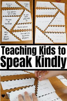 Teaching kids to speak kindly to others is an important skill but it can feel abstract. Make this more concrete with this kindness activity from Coffee and Carpool to help them understand the damage cruelty can do.
