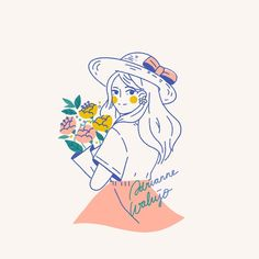 Likes, 99 Comments - Adrianne Walujo Simple Illustration, Character Illustration, Dibujos Cute, You Draw, Cartoon Art Styles, Cute Cartoon Wallpapers, Drawing People, Cute Drawings, Cute Art