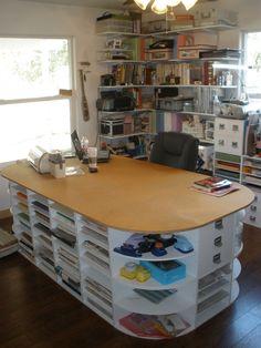 #papercraft #craftroom - #Scrapbook Room