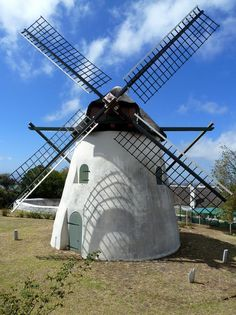 Mostert's Mill in Rondebosch, Cape Town, South Africa. Ring Around The Moon, Tilting At Windmills, South Afrika, Wind Mills, Cape Town South Africa, Out Of Africa, Being In The World, Once In A Lifetime, Le Moulin