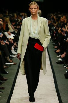Givenchy | Fall 2014 Ready-to-Wear Collection | love the red pocket   #PFW