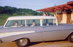 went across American numerous times in the back of station wagon....oh for the memories....